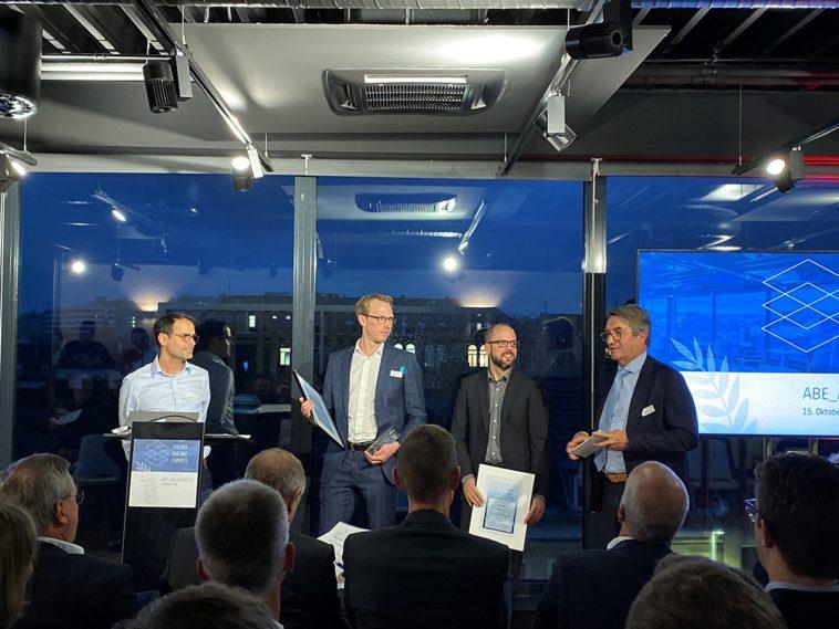 Gebäudelebenszyklus: Neue Geschäftsideen von Start-ups mit dem ABE_Award ausgezeichnet.