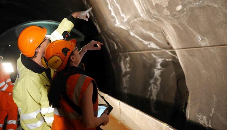 Intergeo, multispektraler Sensor für die Tunnelinspektion