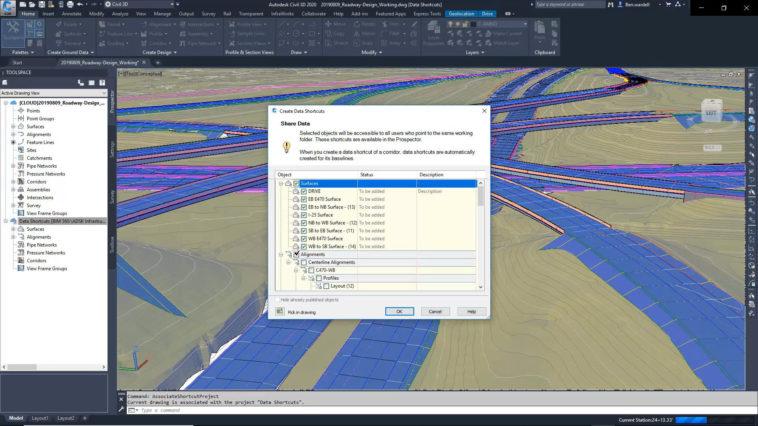 Cloud-Plattform BIM 360 Design mit Civil 3D