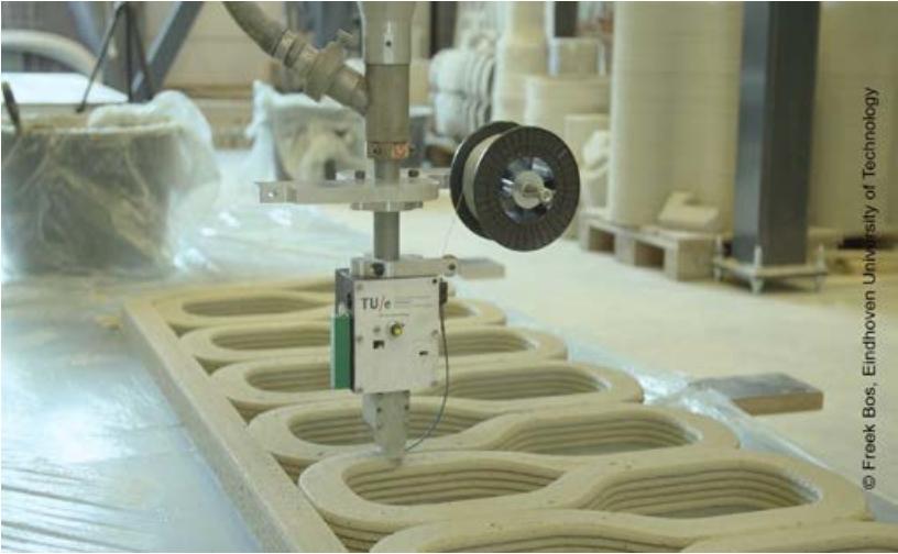 Betonbau: Trends in digitaler Fertigung und 3D-Druck
