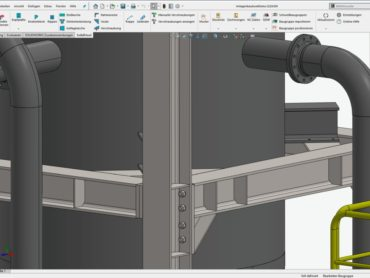 Stahlkonstruktionen: Stahlbau und Maschinenbau in einer Software vereint