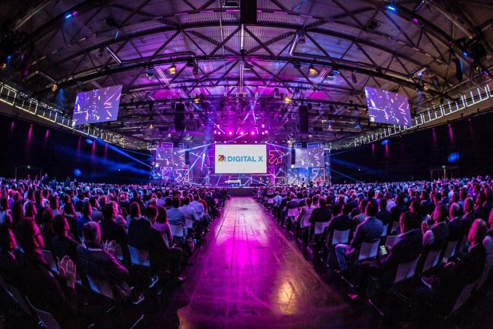 Digital X: Drei Gründerväter der Digitalisierung auf einer Bühne