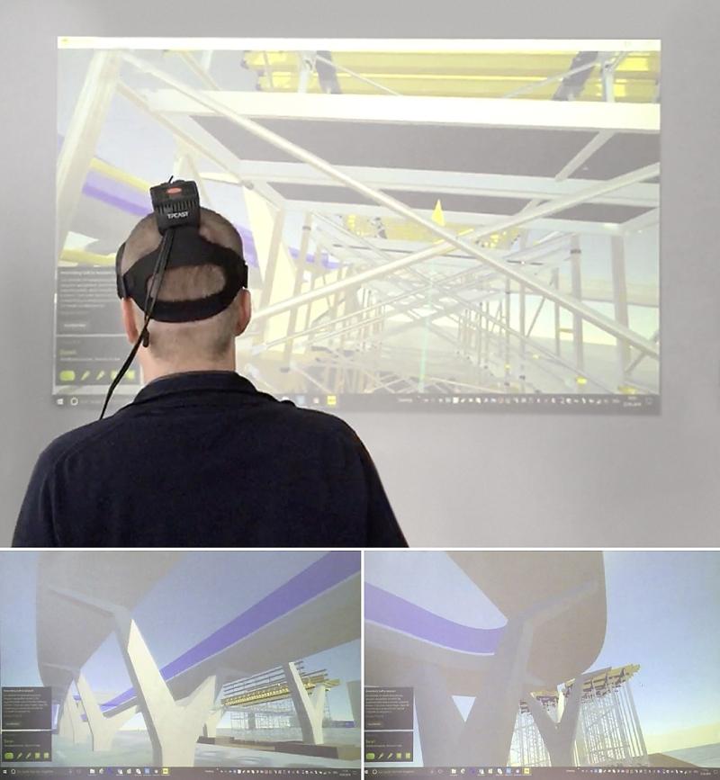 Schalungsplanung mit VR