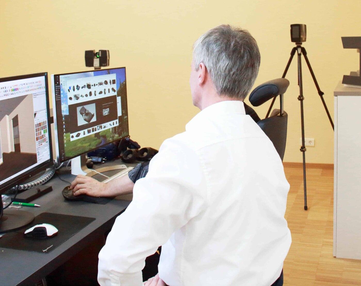 Virtueller Innenausbau