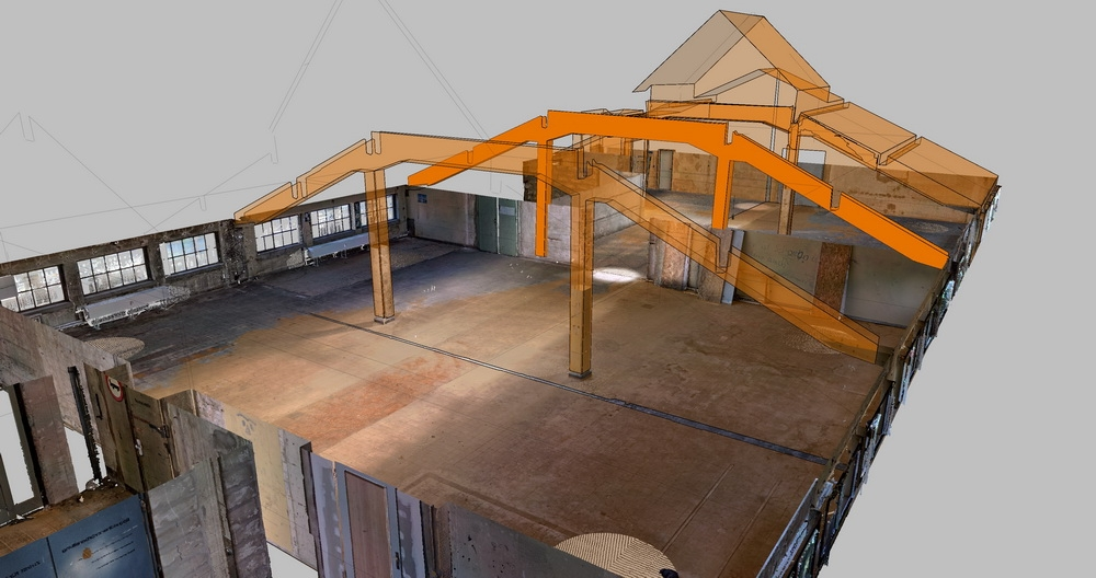 Scan-to-CAD mit As-built-Modeler
