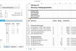 AVA-Software mit verbesserten Funktionen für periodische Ausschreibung