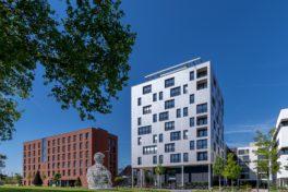 Wohnen auf kleinem Raum: Holzhochhaus SKAIO Heilbronn