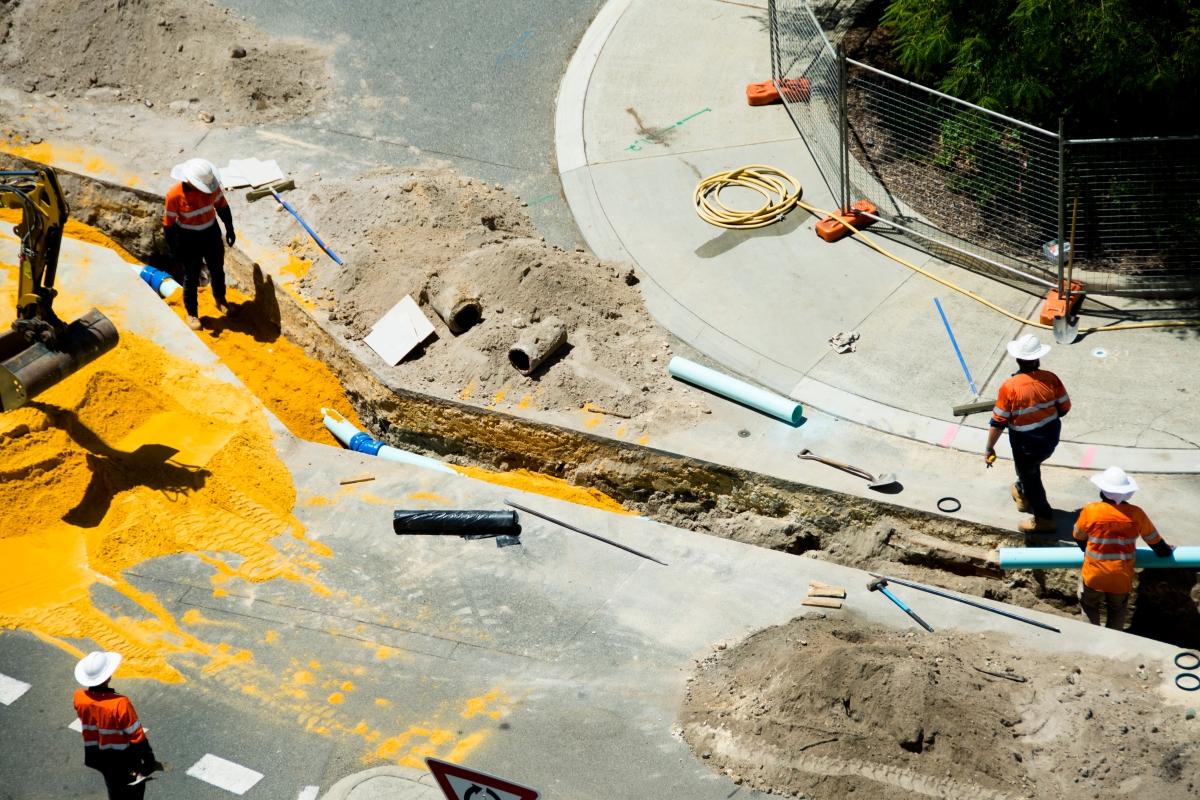 Straßenbaustellen digital planen