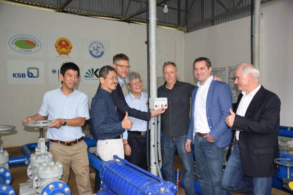 Wasserversorgung für Karstlandschaft um Đồng Văn