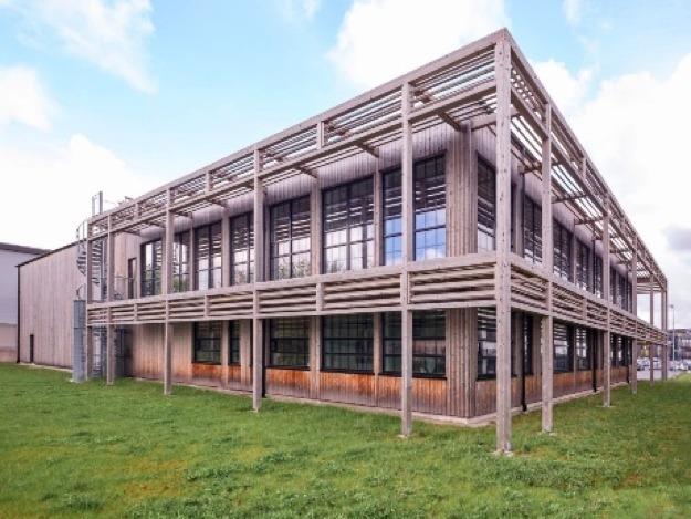 Massivholz für Außenfassade