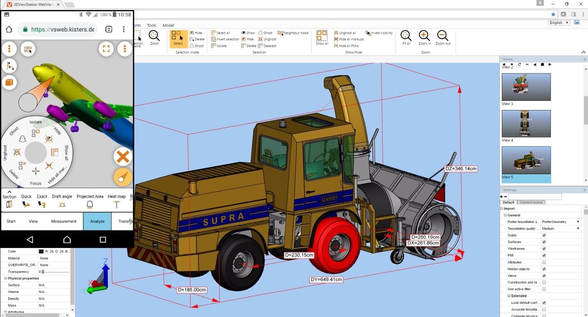 Mobile Visualisierung von CAD-Daten