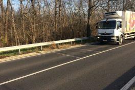 Straßenschäden: wie überladene LKWs aus dem Verkehr gezogen werden
