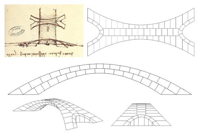 Brückenbau in der Renaissance, Leonardo da Vinci
