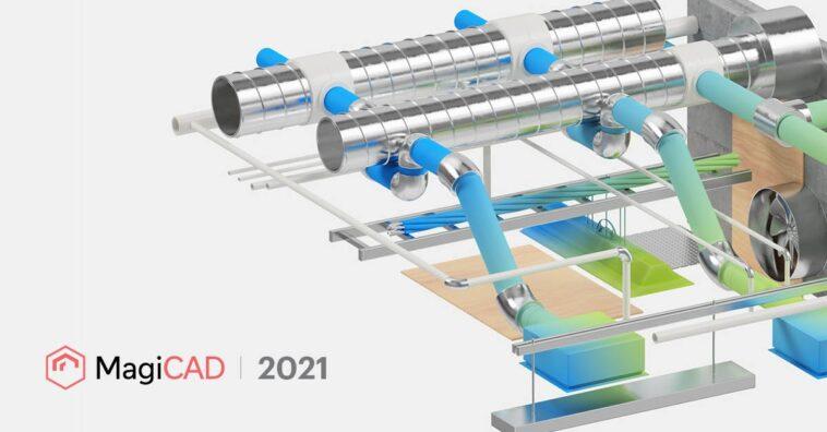 TGA-Planung mit MagiCAD 2021