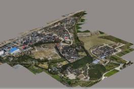 Kartierung und 3D-Modellierung hoher Wände
