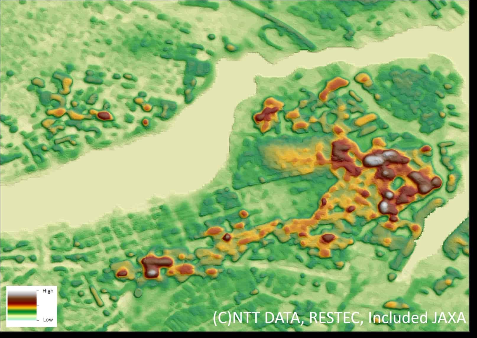 3D-Weltkarten mit 5 m Auflösung