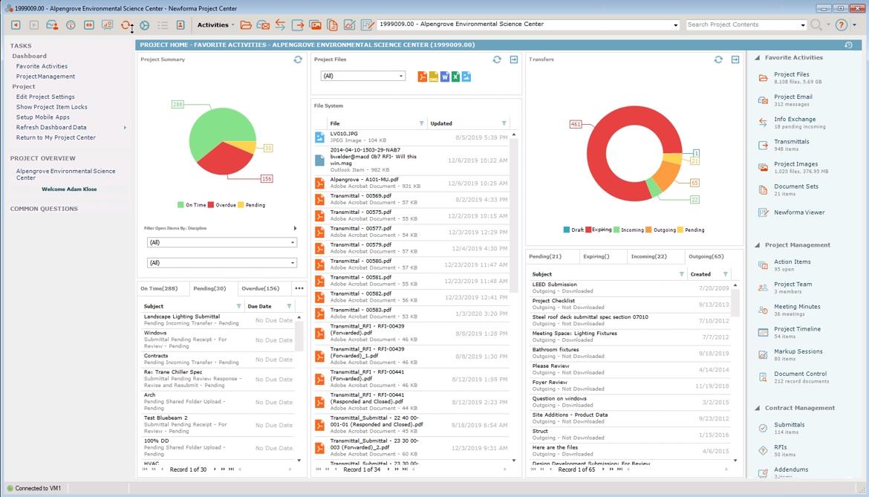 digitalBAU 2020: Newforma mit neuer Version seiner EPIM-Software