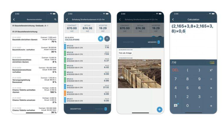Aufmaß erfassen mit neuer App