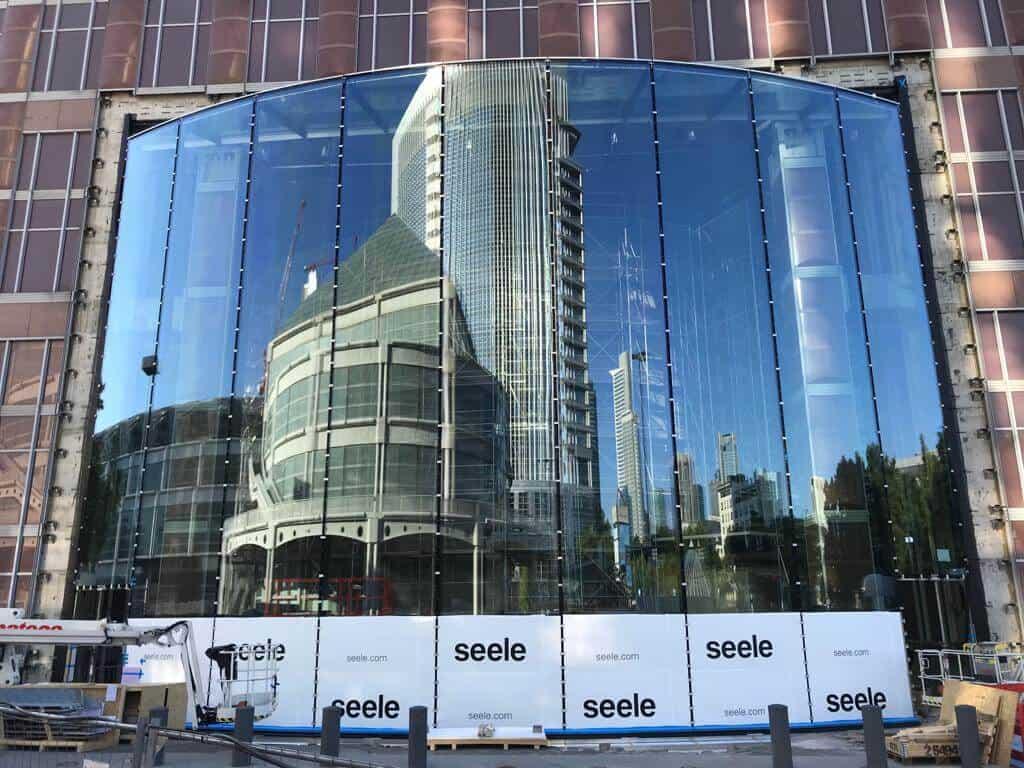 Isolierglas für Messeturm Frankfurt