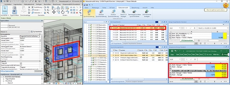 CAD- und AVA-Software werden verzahnt.