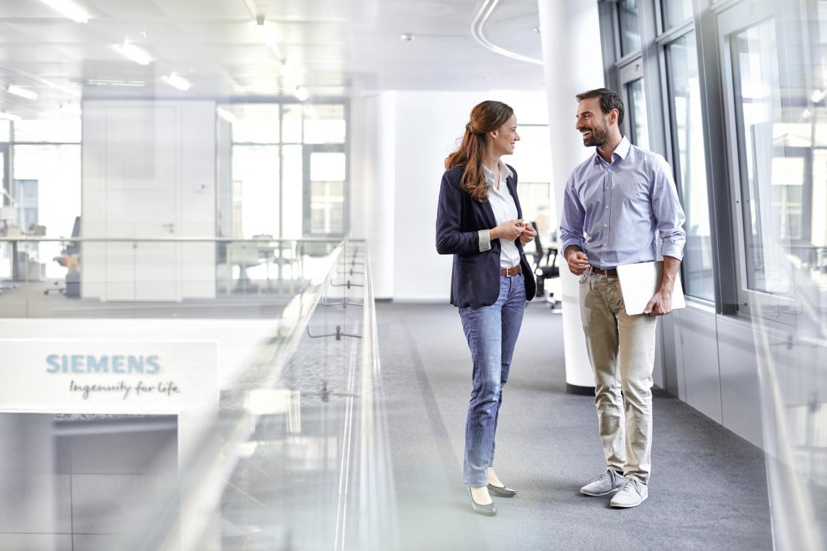Light + Building: Siemens transformiert Gebäude