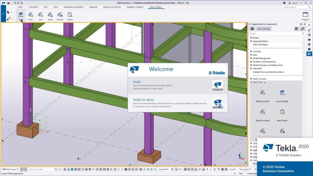 BIM-Workflow: Baustatik und Entwurfsberechnung