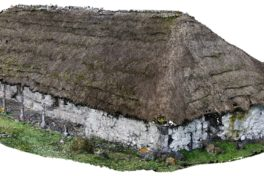 Berghütte von Alexander von Humboldt in 3D-Rekonstruktion