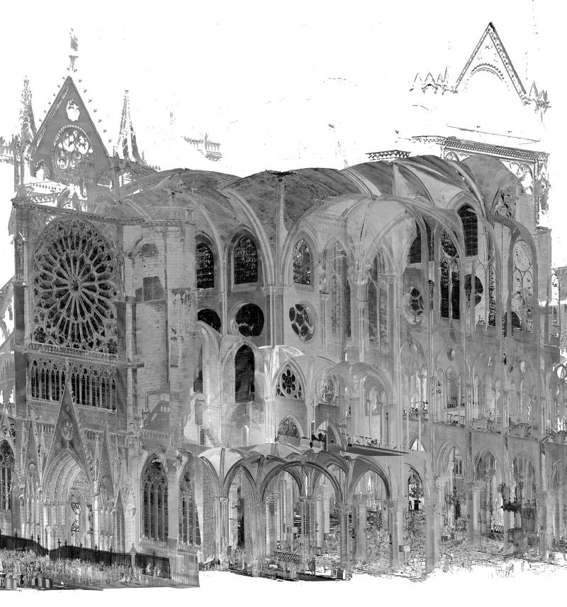 Kathedrale Notre Dame, 3D-Modell