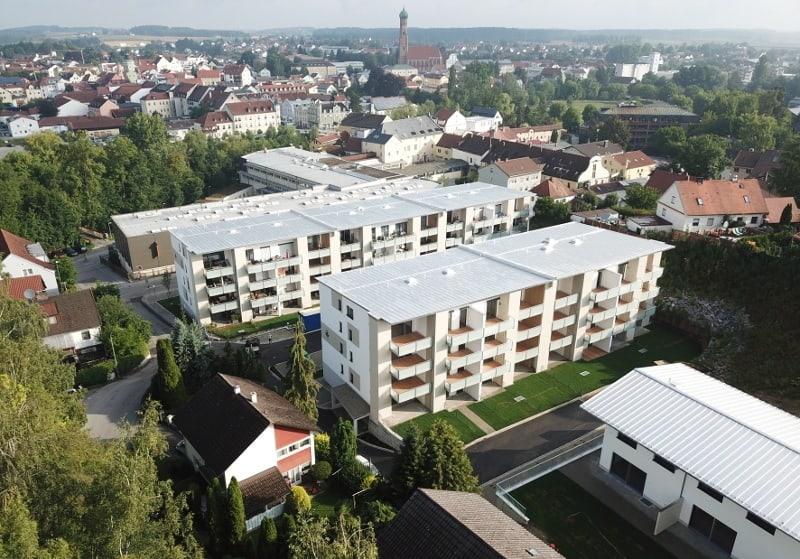 Nachverdichtung in Vilsbiburg: Günstig wohnen auf dem Brauereigelände