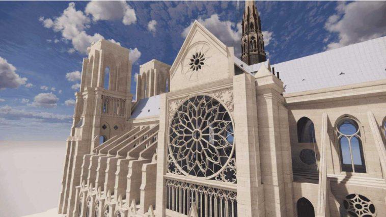 Wiederaufbau von Notre-Dame mit BIM-basierten Lösungen
