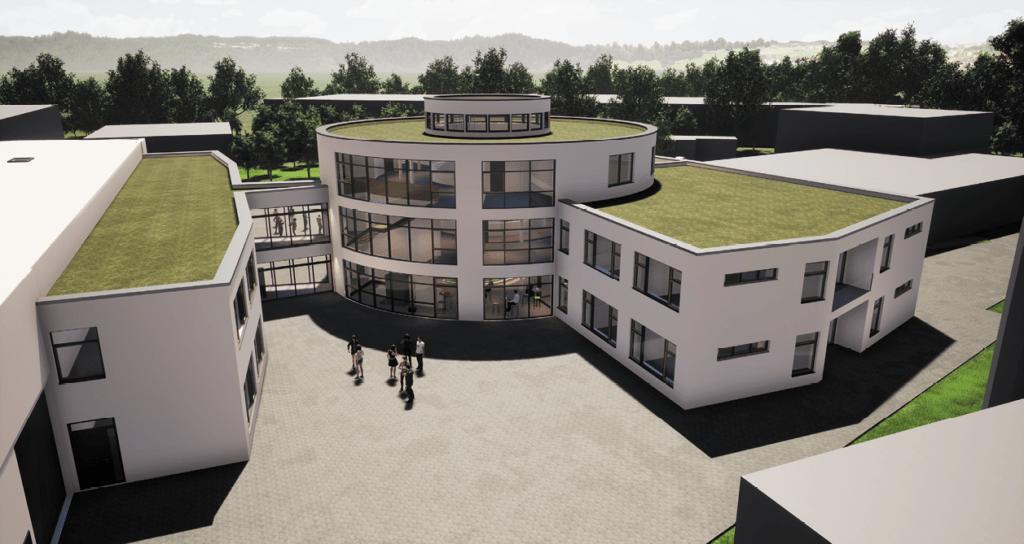 Projektsteuerung im Bau, Neubau eines Bürogebäudes für einen Spielgerätehersteller
