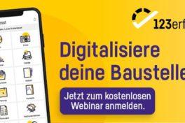 123erfasst: Kostenfreies Webinar zu den Funktionen der App