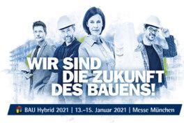 Messe BAU: 2021 nicht als klassische Präsenzveranstaltung