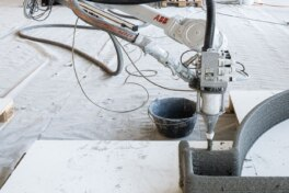 Druckroboter: Prozessüberwachung mit Drucksensor für höhere Qualität im 3D-Betondruck