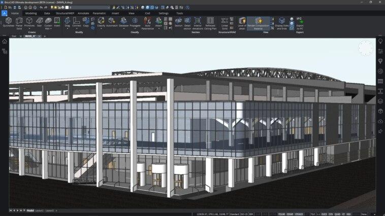 BIM Virtual: MERViSOFT zeigt BricsCAD BIM V21