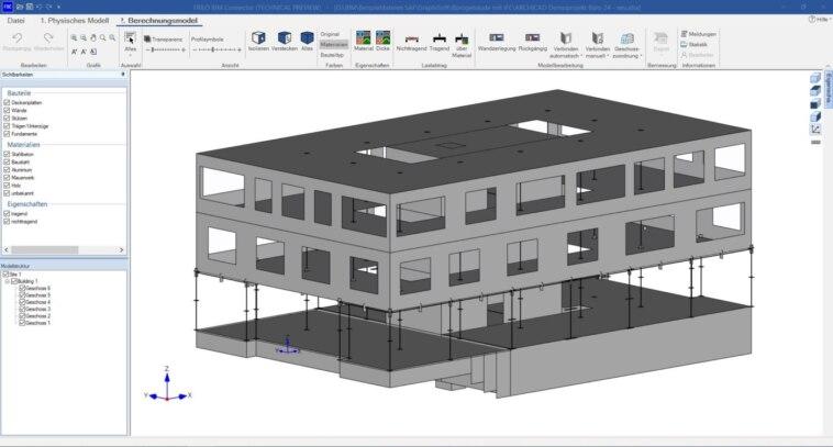 vernetzte Gebäudeplanung