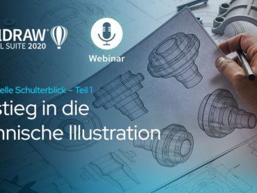 Live-Webinar: Technische Illustrationen von Anfang an richtig erstellen