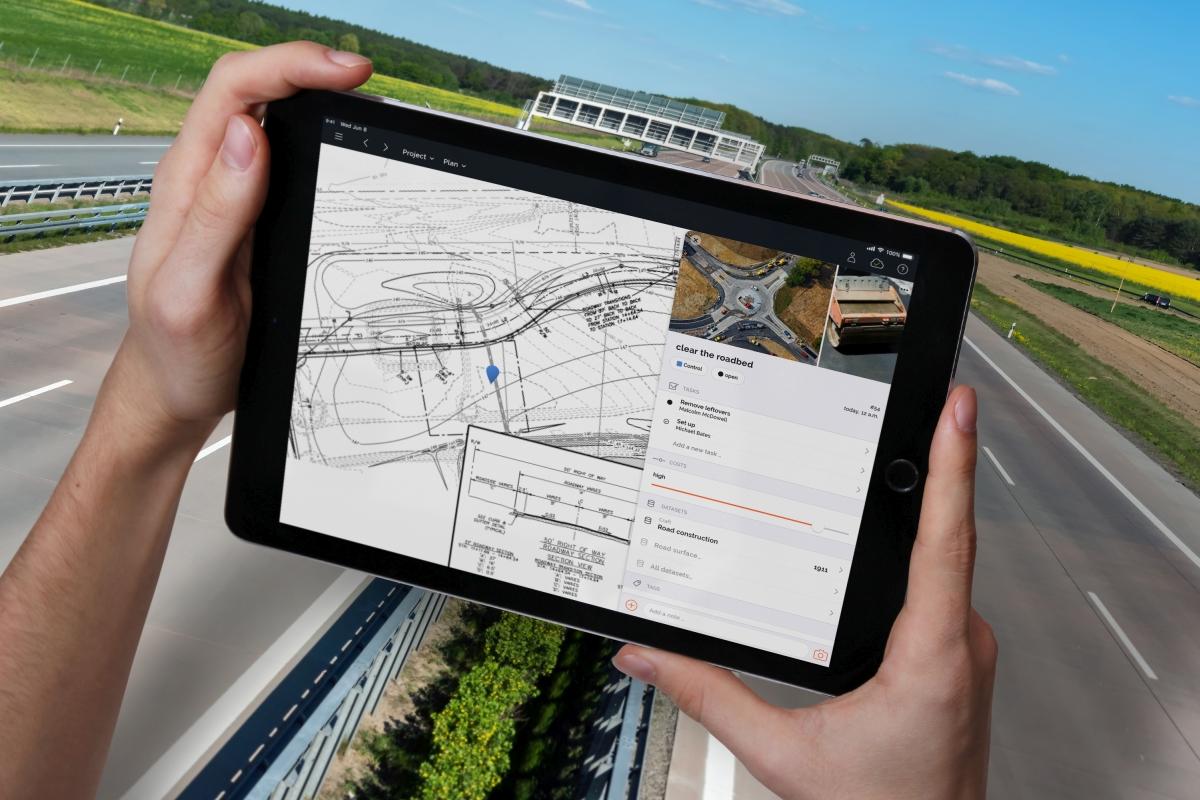 Digitalisierung für BIM Baustellen im Verkehrswegebau