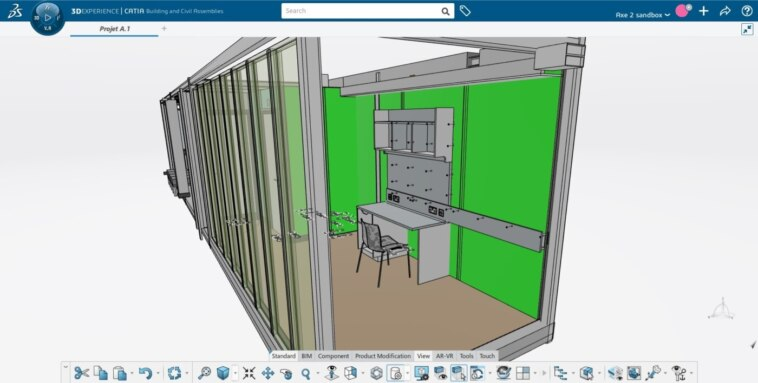 Digitaler Zwilling bei Bouygues Construction