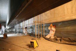 Lamellen aus CFK und Beton: Sanierung alter Bauwerke