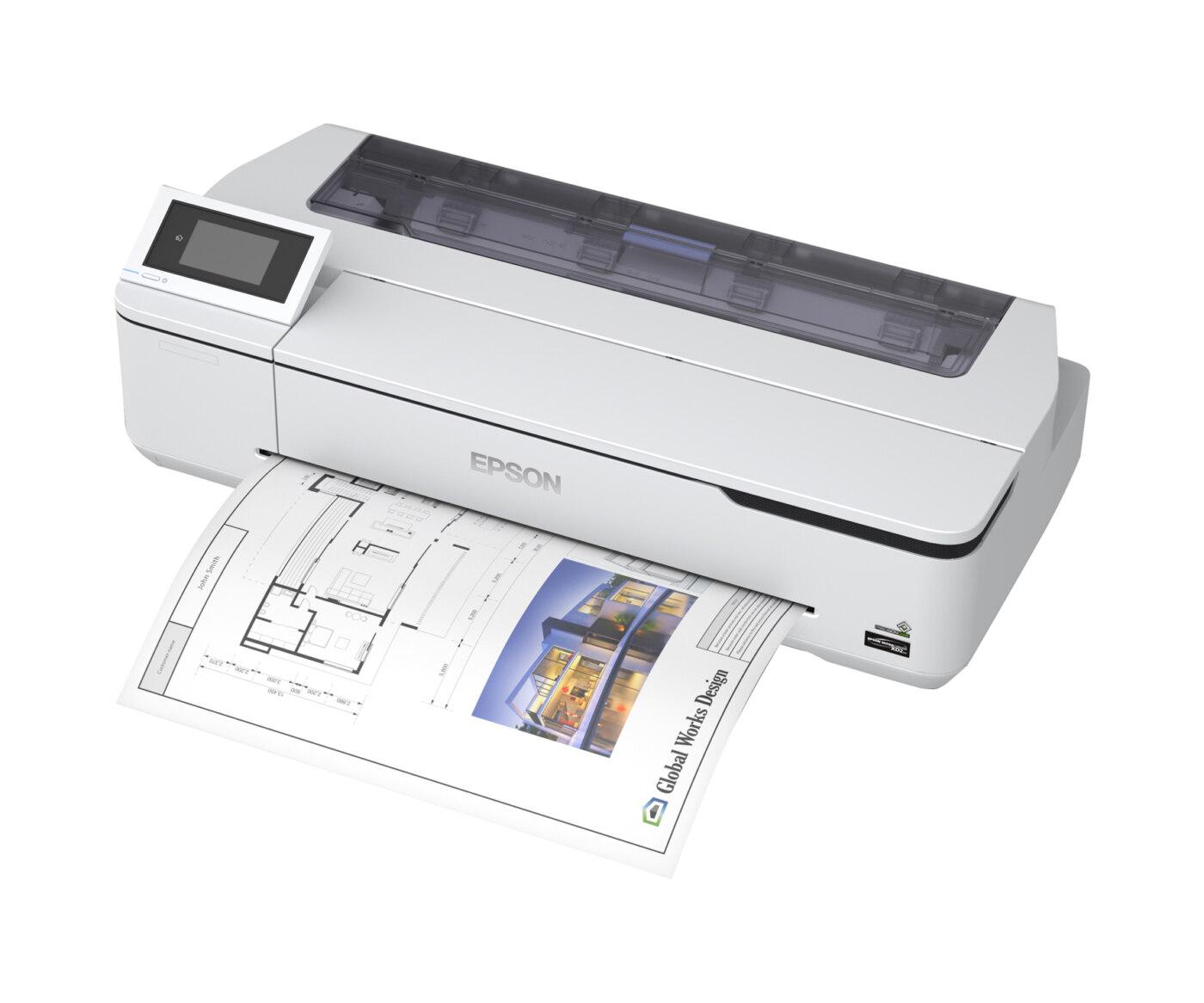 """Epson SureColor SC-T3100N – 24"""" CAD-Drucker als Tischgerät"""