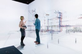 Gebäudedaten in der virtuellen Welt visualisieren