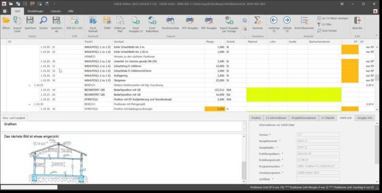 GAEB DA XML 3.3 und XRechnung in Bietersoftware integriert