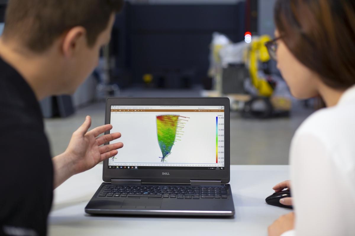 3D-Testing: Wie verformen sich Bauteile und Materialien unter Belastung?