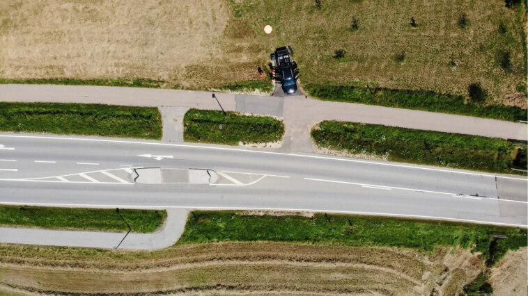 Trassenvermessung mit Drohnen