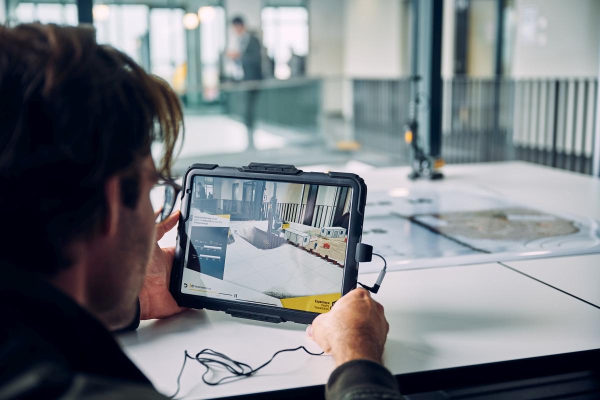 Virtuelle Baustelle mit Augmented Reality erlebbar machen