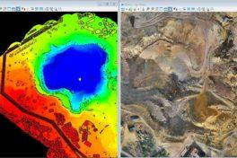 Falun-Mine: 3D-Vermessung und Kartierung mit Drohnen