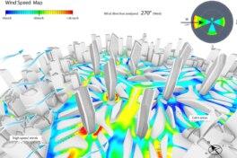 Zaha Hadid Architects nutzen SimScale für die Windkomfort-Simulation