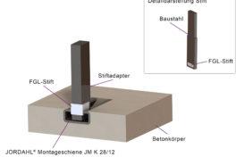 Formgedächtnislegierungen für Verbindungen im Carbonbetonbau