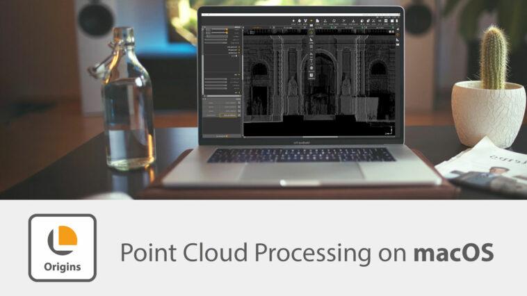 Lidar-Punktwolken auf macOS bearbeiten
